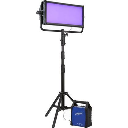 Picture of Litepanels Gemini 2x1 Soft Panel - EU - Pole Operated Yoke