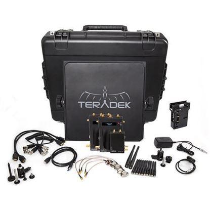 Picture of Teradek Bolt 995-2V Bolt 3000 HD-SDI/HDMI TX/2RX Deluxe V-mount
