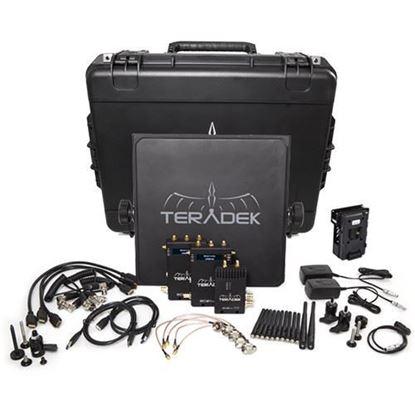Picture of Teradek Bolt 990-2V Bolt 2000 HD-SDI/HDMI TX/2RX Deluxe V-mount