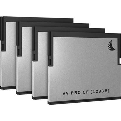 Picture of Angelbird AVpro CF 128 GB | 4 PACK