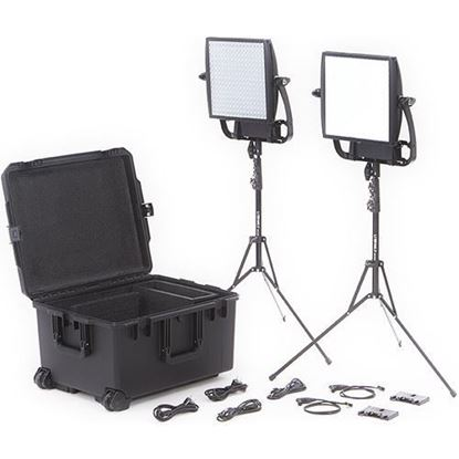 Picture of Litepanels Astra 6X + Astra Soft Traveler Duo Gold Mount Kit