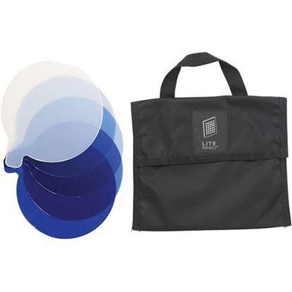 Picture of Litepanels Inca 12 5-Piece CTB Gel Set with Gel Bag
