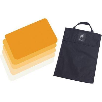 Picture of Litepanels Hilio D12 5-Piece CTO Gel Set with Gel Bag