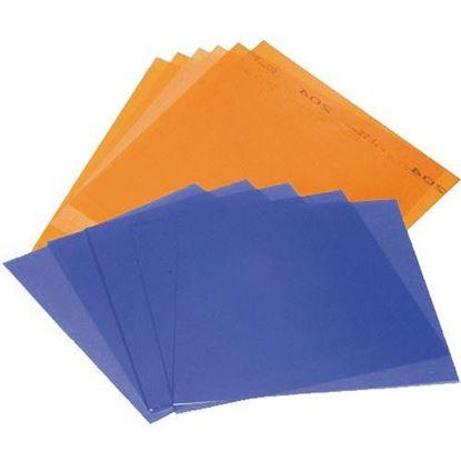 Picture of Litepanels 1x1 6-Piece Bi-Color Gel Set with Gel Bag