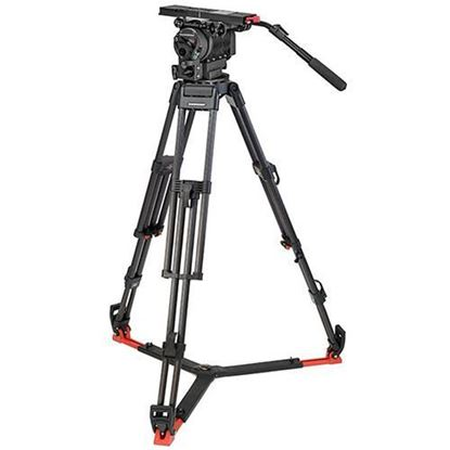 Picture of OConnor 2560 Head & 60L Mitchell Tripod with Floor Spreader