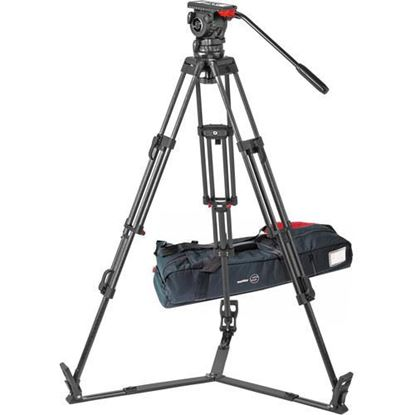 Picture of Sachtler FSB 10 T ENG 2 CF Carbon Fiber Tripod System with Touch & Go Plate (100mm)