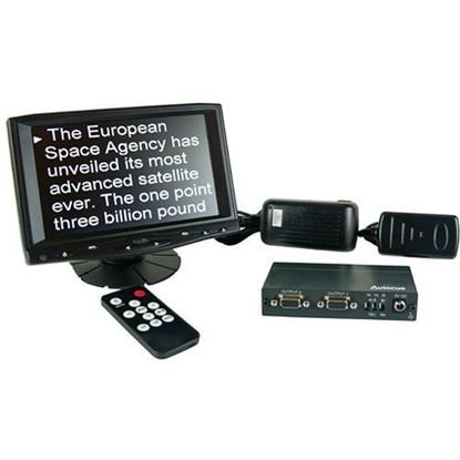 "Picture of Autocue 8"" Preview Monitor, VGA Splitter and cable"