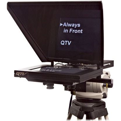 """Picture of Autocue Professional Series 12"""" with Medium Wide Angle Hood and Gold Plate"""