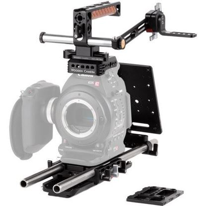 Picture of Wooden Camera - Canon C100, C100mkII Unified Accessory Kit (Pro)