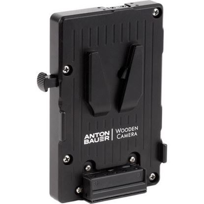 Picture of Wooden Camera -WC Pro V-Mount (3x D-Tap and Digital Fuse)