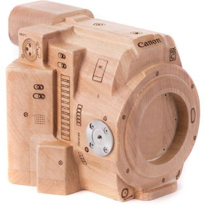 Picture of Wooden Camera -Wood Canon C200 Model