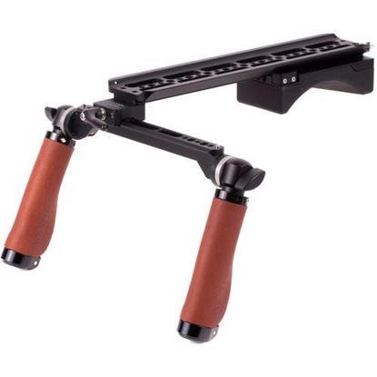 Picture of Wooden Camera - Shoulder Rig v2 (Base, Brown Leather)