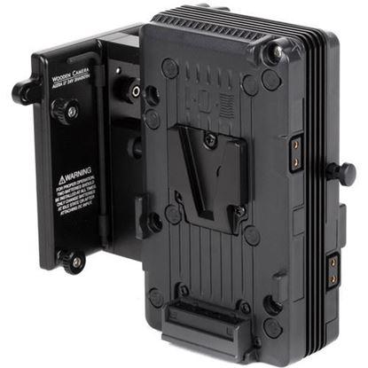 Picture of Wooden Camera ARRI Alexa LF 24V Sharkfin Battery Bracket (V-Mount)