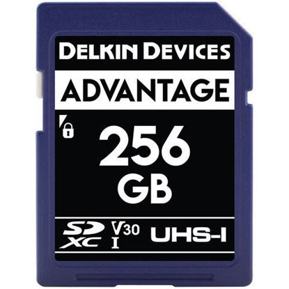 Picture of Delkin Devices 256GB Advantage UHS-I SDXC Memory Card