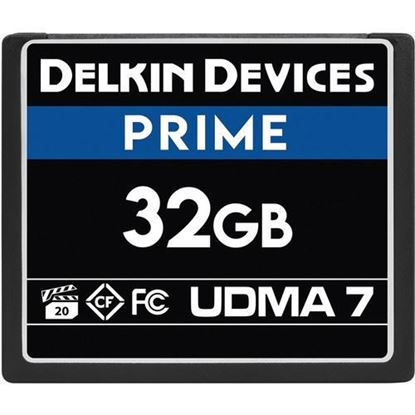 Picture of Delkin Devices 32GB Prime UDMA 7 CompactFlash Memory Card