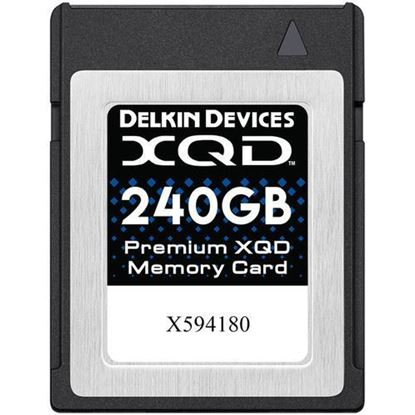 Picture of Delkin Devices 240GB Premium XQD Memory Card