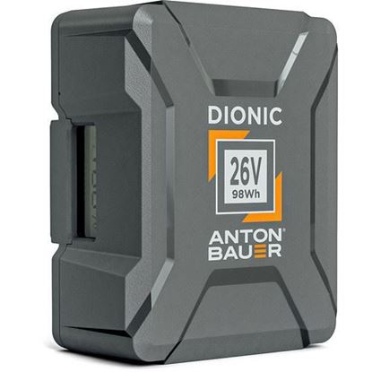 Picture of Anton Bauer Dionic 98Wh 26V Gold Mount Plus Battery