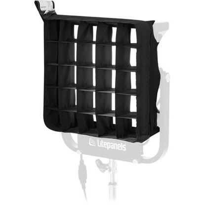Picture of Litepanels Snapgrid Eggcrate for Gemini 1x1 LED Panel (40°)